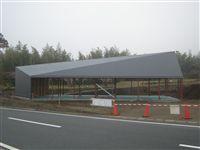 2012/3/24    屋根FRP防水作業が完了