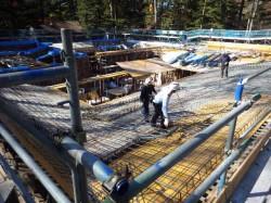 屋根 鉄筋工事