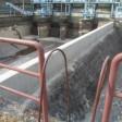 基礎防水修理工事      (東京電力 塩川発電所)